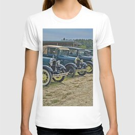 Vintage Car Lineup T-shirt