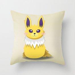 Evolution Bobbles - Jolteon Throw Pillow