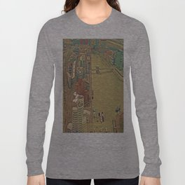 Duesseldorf Medienhafen View from the Tower Long Sleeve T-shirt