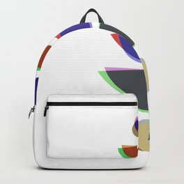 Mid Century Uno - Abstract Pastel Art Backpack