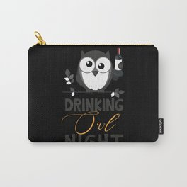 Nocturnal owl party Carry-All Pouch