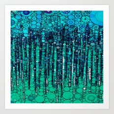 :: Blue Ocean Floor :: Art Print