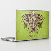 predator Laptop & iPad Skins featuring predator by alex leeman