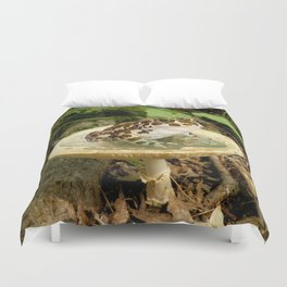 Toad Stool. Duvet Cover