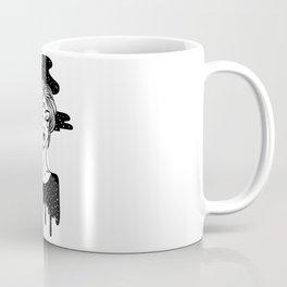 Smoking girl Coffee Mug