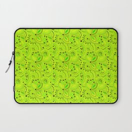 Green neon  , placer beads #neon #bright Laptop Sleeve