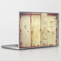 doors Laptop & iPad Skins featuring doors by sandra lee russell