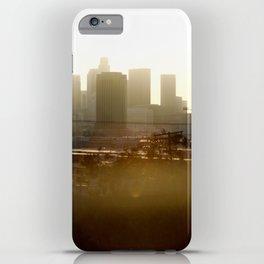 LA sunshine iPhone Case