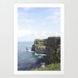 The Cliffs of Moher II Art Print