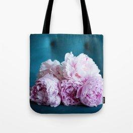 Perfect Pile of Pink Peonies Tote Bag