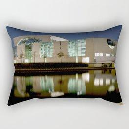 Nocturnal landscape of Berlin Rectangular Pillow