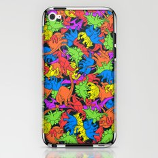 Tetrisaurus iPhone & iPod Skin