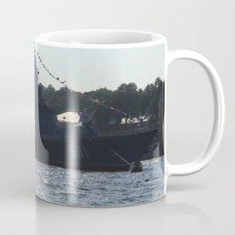 "The military ship ""Smart"" / ""Soobrazitelniy"" 531. The Neva River. Coffee Mug"