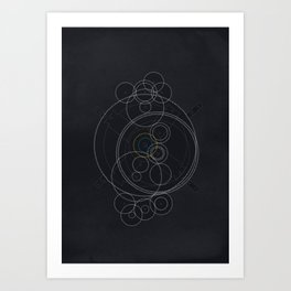 The Antikythera Mechanism Art Print