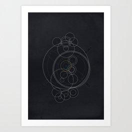 The Antikythera Mechanism Art Print