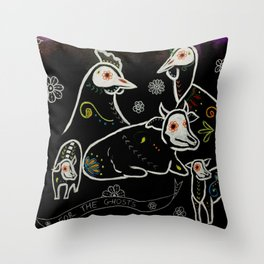 For The Ghosts Throw Pillow