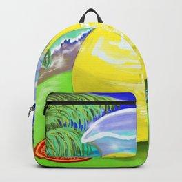 Lemon Paradise Backpack