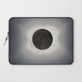 Total Eclipse by  OLena Art Laptop Sleeve