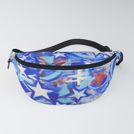 Red, white and Blue Fanny Pack