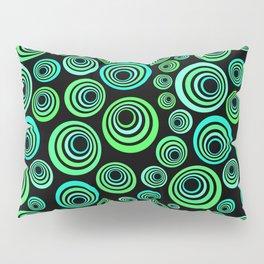 Neon blue and green Pillow Sham