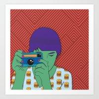 Camera Art Print
