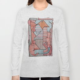 Bridget Riley Long Sleeve T-shirt