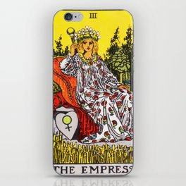 03 - The Empress iPhone Skin