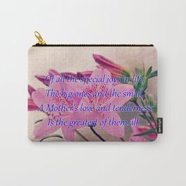 Mothers Day - Special Joy Carry-All Pouch