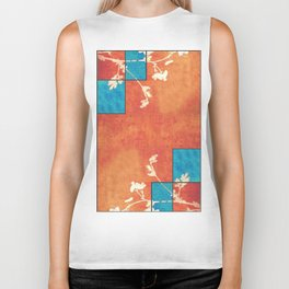 Echoes of Autumn Whispers of Spring Biker Tank
