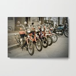 Scoot Scoot Metal Print