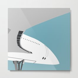 Concorde Metal Print