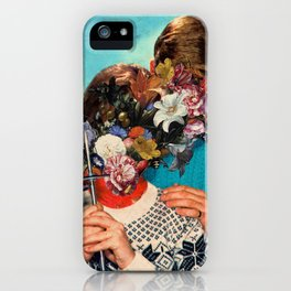 FLOWER FACE iPhone Case