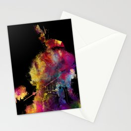 Violoncello art 2 #violoncello #cello #music Stationery Cards