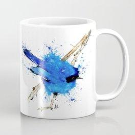 Blue Bird - Fairy Wren Coffee Mug
