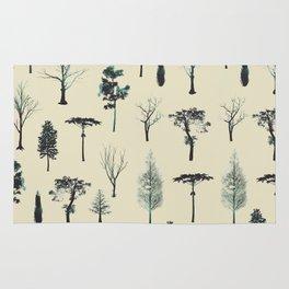 trpical trees Rug