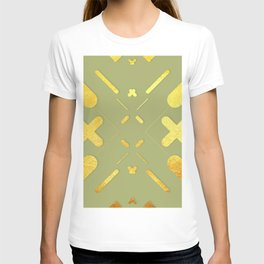 Symmetrical Colorful Lines XV T-shirt