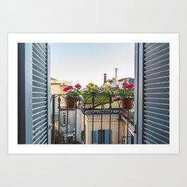 Buongiorno Milano Art Print