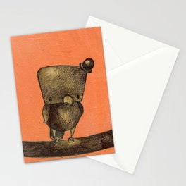 Classy on the Wire Stationery Cards
