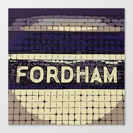 Fordham Canvas Print