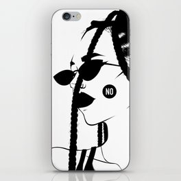 No. iPhone Skin