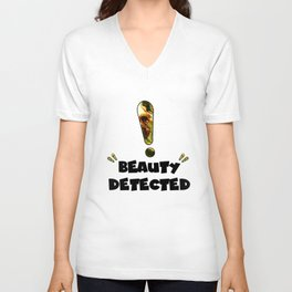 Beauty Detected Unisex V-Neck