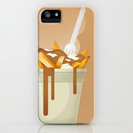 Poutine iPhone Case