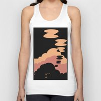 cloud Tank Tops featuring Cloud by Herber Crispin