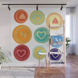 Vacation Sea Beach Summer Sailing Wall Mural
