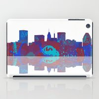 baltimore iPad Cases featuring Baltimore Skyline by Marlene Watson