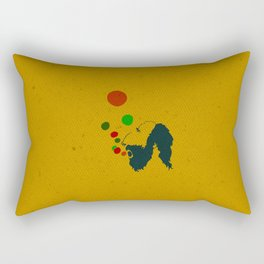 Bublle Man Rectangular Pillow