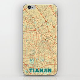 Tianjin Map Retro iPhone Skin