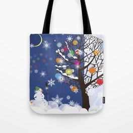"""Seasons"" Autumn-Winter Tote Bag"