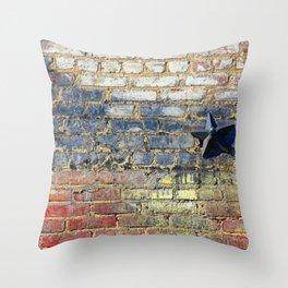 Earth, Star & Moon Throw Pillow