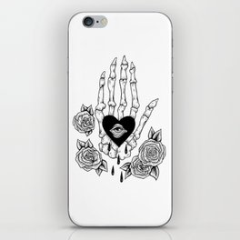 crying my heart out iPhone Skin